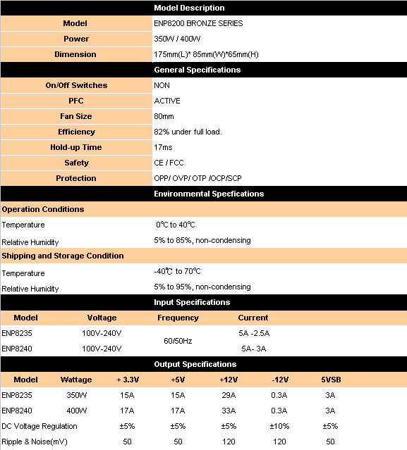 ATX1200B SPEC